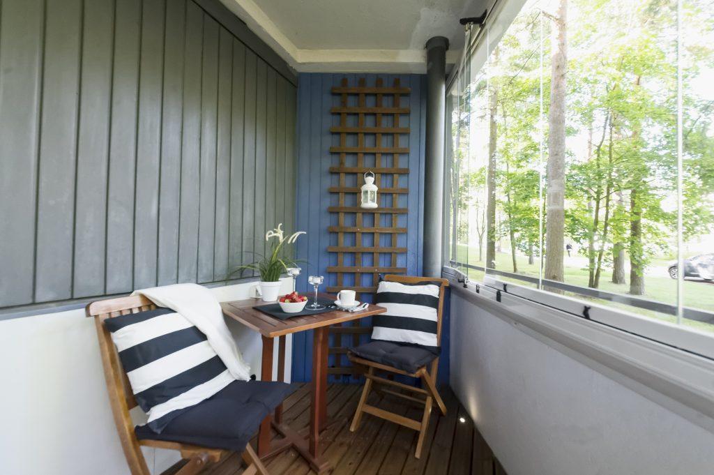Vitrage pour balcon
